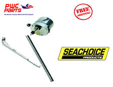 "SEACHOICE Self-Parking Windshield Wiper Kit 11"" Wiper Blade 110° Sweep 41801 NEW"