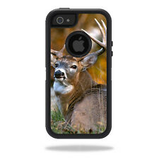 Skin Decal Wrap for OtterBox Defender iPhone 5/5s/SE Case sticker Deer