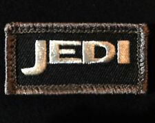 JEDI TACTICAL US ARMY MORALE TAB USA MILITARY BADGE BLACK OPS SWAT PATCH VELCRO