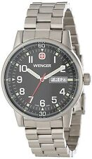 NIB New Wenger Swiss Army Day Date XL Commando Men's Watch 70163