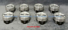 Speed Pro Chevy 5.7/5.7L/350 VORTEC Hypereutectic Coated Skirt Pistons Set/8 STD