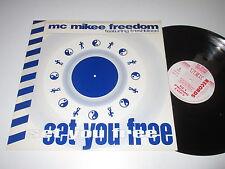 MaxiSingle/MC MIKEE FREEDOM/SET YOU FREE/TEKK 12 DJs PROMO