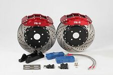 Ford Focus RS Front 356mm 6-Pot PB Brakes Big Brake Kit (more sizes available)