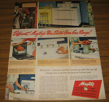 1948 Vintage Ad Maytag New Dutch Oven Gas Range Automatic Cleaner