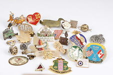 ASSORTED PINS INCLUDES COCA COLA 7-11 FREEDOMS GUARDIAN AND MORE  0214