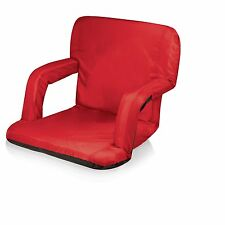 Picnic Time Portable Ventura Reclining Seat, Red 618-00-100 New