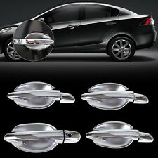 New Chrome Door Handle Cover + cup Bowl for Mazda 2 3 6 2010 2011 2012 2013 2014