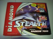 ATI Radeon 7000 64MB PCI DDR TV-OUT DVI 64 bit Graphics Card S60PCI64