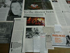 MARIA MCKEE - MAGAZINE CUTTINGS COLLECTION (REF Z14)