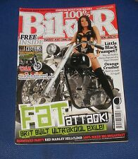 100% BIKER ISSUE NO.119 2009 - FAT ATTACK!/LITTLE BLACK TRUMPET/ORANGE CRUSHER