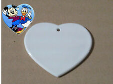 Foto su ciondolo in ceramica forma cuore (fotogadget)