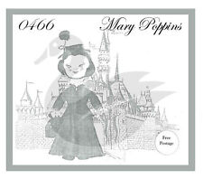 "Riproduzione VINTAGE WALT DISNEY Mary Poppins 24 ""BAMBOLA cucito PATTERN"