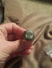 2010 TEXAS RANGERS ALCS CHAMPIONSHIP REPLICA RING with keyring