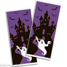 20 Happy Halloween Haunted House Party Cellophane Loot Favour Party Bags