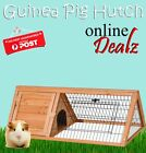 Guinea Pig Hutch Cage House Wooden Coop Triangle Run Hen NEW Cheapest On Ebay
