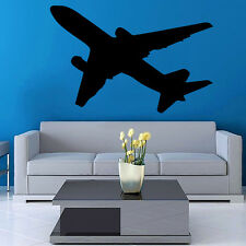 Vinyl Wall Decal Sticker Design Airplane VY364