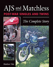 AJS and Matchless Post-War Singles and Twins Book~Motorcycle Design~Racing~NEW!