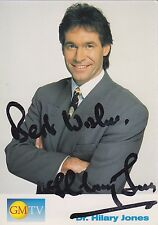 SIGNED PHTOTOCARD OF Dr. HILARY JONES
