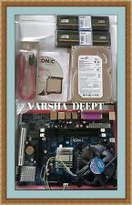 INTEL 945/G31 MOTHERBOARD+C2D2.66CPU+2GB DDR2 RAM+250GB SATA HARD DISK+FAN COMBO