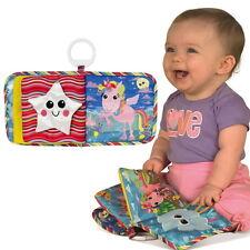 Lamaze Baby Buch Ella Einhorn Entdeckungsbuch Stoffbuch Fühlbuch ab 0 Monate neu