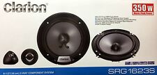 "NEW Clarion SRG1623S Component 6-1/2"" Car Audio Speakers, 6.5"" (1 PAIR)"