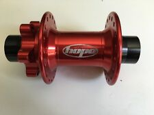 Hope Pro2 Evo Disc F 20mm T-A Front Hub 110X36 Hole Red