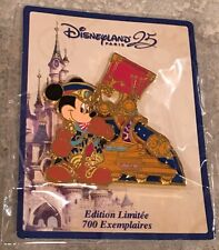 Disneyland Paris 25th Anniversary Mickey Parade Float Pin First In Series LE 700