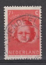 NVPH Netherlands Nederland nr 447 TOP CANCEL s' GRAVENDEEL 1945 kinderzegel