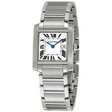 Cartier Tank Francaise Steel Midsize Watch W51011Q3