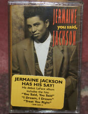 You Said by Jermaine Jackson Tape 1991, LaFace SEALED NEW W/HYPE STICKER MINT