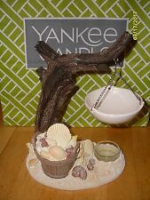 Yankee Candle New Wax Tart Warmer Burner Beach Seashells & Driftwood Nautical