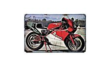 Ducati 750 F1 Desmo Motorbike A4 photo Retro Bike