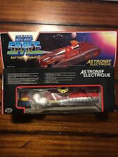Vintage CollectibleSpaceship Astronef Electrique Battery Operated Tin Toy