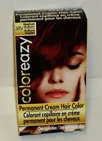 Coloreazy Permanent Cream Hair Color MEDIUM AUBURN 3RV  NIP