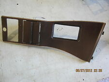 LINCOLN MARK VII LSC 87-92 1987-1992 CONSOLE DECK                              L