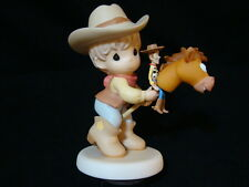 zd Precious Moments-Disney Toy Story-Woody/Bullseye-Rounding Up Gang Full Of Fun