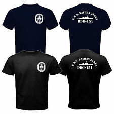 New The Last Ship USS Nathan James DDG-151 US Navy Seal TV Series T-shirt Tee