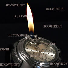 New Cool Fashion Novel Watch Refillable Butane Gas Cigarette Cigar Lighter