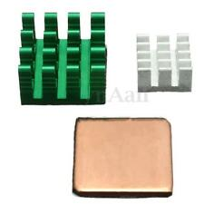 3 PCS Aluminum Heat Sink For Raspberry Pi 2/3  model B/B+ Adhesive Cooling Kit