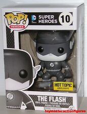 FUNKO POP DC HEROES THE FLASH 10 Black & White HOT TOPIC BLACK FRIDAY In Stock
