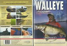 Lindner Walleye Fishing Precision Techniques DVD NEW