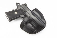 Wilson Combat - Compact 1911 Lo-Profile Right Hand Holster - Black Leather