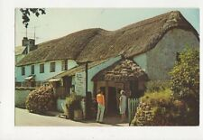 The Old Thatched Barn Croyde Devon 1970 Postcard 378a
