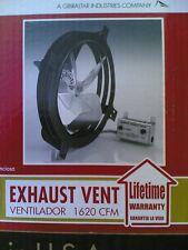 NIB: Home Gable-Mount 1620-CFM ATTIC FAN w/ Pre-Wired Thermostat & Humidistat