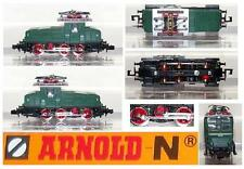 ARNOLD 2460 VINTAGE LOCOMOTORE ELETTRICO MANOVRA Ep.3a Serie E6306  BOX SCALA-N