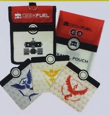 Geek Fuel Pokemon Go Canvas Travel Bag Pouch Case Purse Valor Mystic Instinct