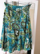 Ladies M&Co size 12 A line floral lined skirt