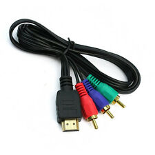 3Ft HDMI to 3 RCA Component Video Connection Cable -  Gold Plated