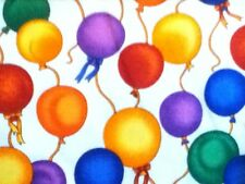 BOLT of Fabric - Balloons on White - (FAB-BALWH) 10 yards