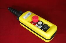 1 NEW Pendant Control Stations fits XAC A2913 2 speed Estop  2 buttons